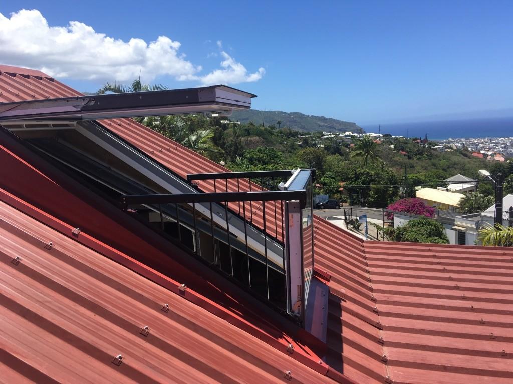 fenêtre de toit à Saint-Pierre à La Réunion 974 | Réunion Toiture